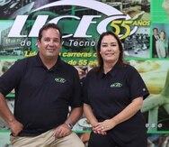 Carlos y Gretchen Manzanal, vicepresidente y presidenta del Liceo de Arte y Tecnología, son la segunda generación a cargo de la institución que  fue pionera en ofrecer cursos cortos.