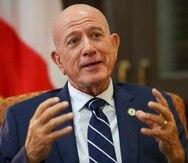 18 deFebrero del 2021Entrevista al designado secretario de Estado Larry Seilhamer david.villafane@gfrmedia.com