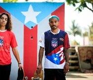 Los boricuas Steven Piñeiro, a la izquierda, y Manny Santiago debutarán este verano en los Juegos Olímpicos en Tokio
