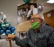 El doctor Juan Enrique Morales, celebró su centenario en el Recinto de CIencias Médicas.