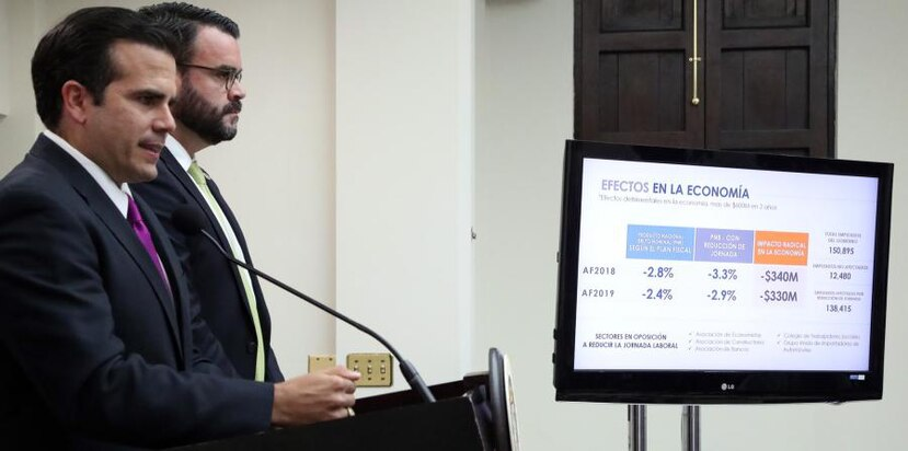 "According to Rosselló Nevares, his government has accumulated enough cash and has submitted documents to the Board that show that a reduction in working day is ""unnecessary,"" ""insensitive,"" and ""insensate."""