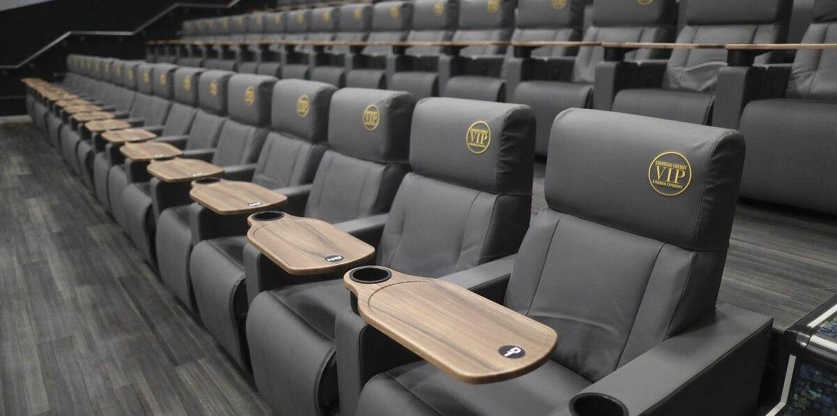Entramos al nuevo Caribbean Cinemas VIP en el Distrito de Convenciones
