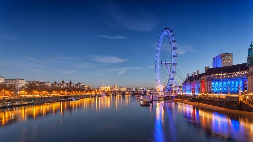 La atracción London Eye es una de las más concurridas en la capital de Inglaterra. (Pixabay)