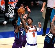 Por siete la racha de victorias de los Knicks de Nueva York