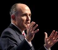 Rudy Giuliani, abogado personal del expresidente Donald Trump.