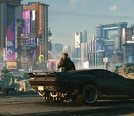 El usuario asume el rol de V y tiene la libertad de explorar Night City a su conveniencia.
