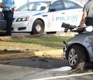La conductora del auto impactado arrojó 0.00% en la prueba de alcohol en el organismo. (GFR Media)