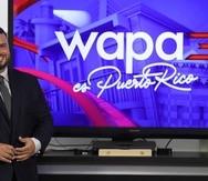 El abogado y analista, Jay Fonseca, se presentó ante la prensa esta tarde desde Wapa Televisión.