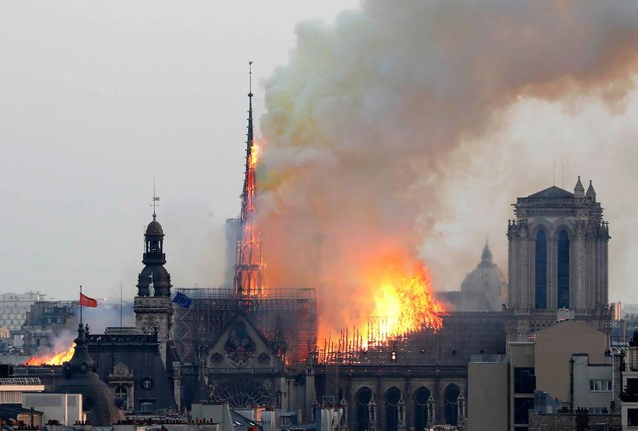 Notre Dame es uno de los monumentos más antiguos del lugar.