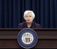 Janet Yellen, secretaria del Departamento del Tesoro.