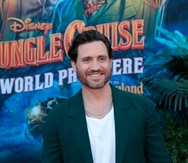 """Fotografía cedida por Alex J. Berliner - ABImages y Disney de Edgar Ramírez en el estreno de la película de Disney """"Jungle Cruise"""" en Anaheim (EE. UU). EFE/ Alex J. Berliner/ABImages SOLO USO EDITORIAL/NO VENTAS/SOLO DISPONIBLE PARA ILUSTRAR LA NOTICIA QUE ACOMPAÑA/CRÉDITO OBLIGATORIO"""
