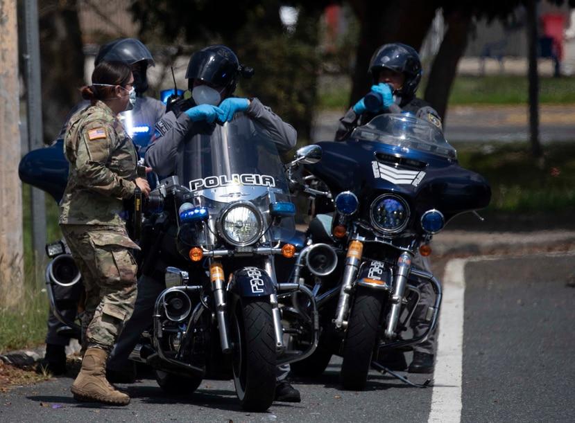 Según el jefe de la Uniformada, Henry Escalera, al momento no se considera buscar la utilización de la Guardia Nacional como apoyo para el patrullaje de la Policía. (GFR Media)
