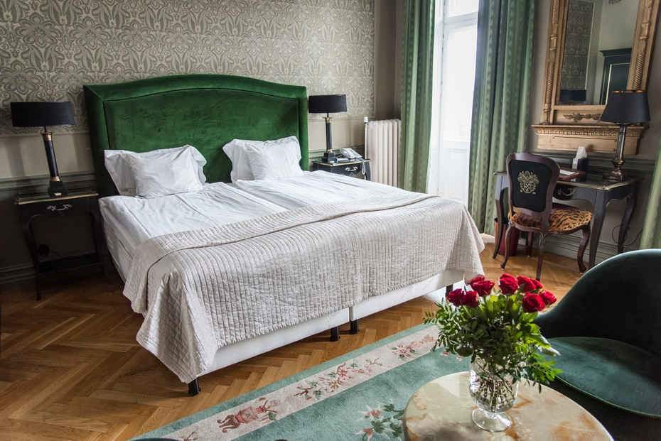 Hotel Eggers en Suecia. Este establecimiento situado en el centro de Gotemburgo, justo al lado de la estación de trenes, es el lugar perfecto para una escapada romántica.