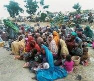 Todavía quedan 34 niñas secuestradas. (AP)
