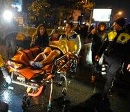 Hasta ahora se han identificado 21 víctimas, de ellas 16 extranjeros de nacionalidades no especificadas. (EFE)
