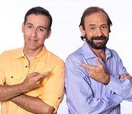 Jorge Castro y René Monclova