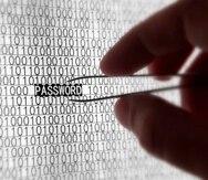 Si la contraseña es muy sencilla de memorizar, es probable que esto haga el trabajo del hacker más fácil. (Archivo)