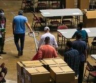 El escrutinio general comienza hoy a las 8:30 a.m. en el edificio de Operaciones Electorales de la Comisión Estatal de Elecciones.