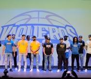 El equipo de los Vaqueros de Bayamón del BSN fue presentado durante la conferencia de prensa previo al inicio de la temporada 2021.