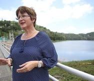 """Pagán dijo que el consumo de los abonados de Carraízo """"se ha mantenido estable, controlado""""."""
