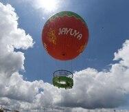 El globo fue inaugurado en mayo del 2017.