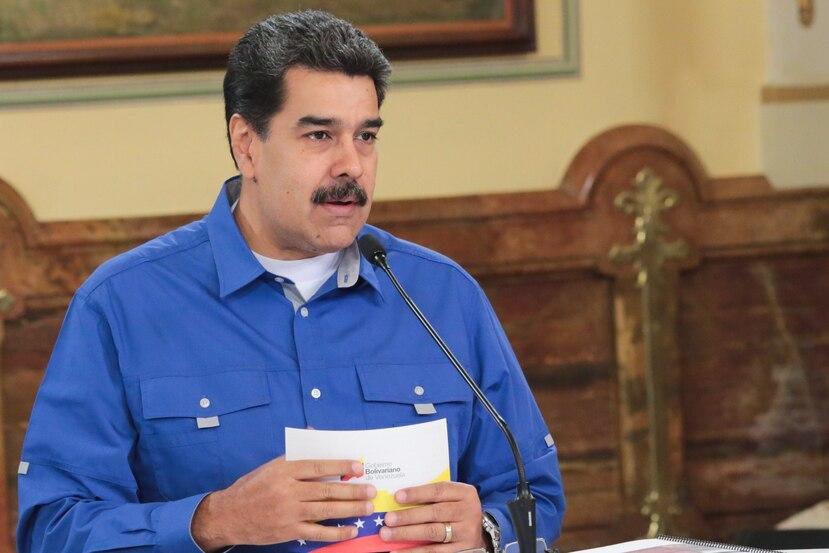 La liquidación de las reservas de oro es una de las maneras de Maduro de mantenerse al frente del gobierno. (EFE)