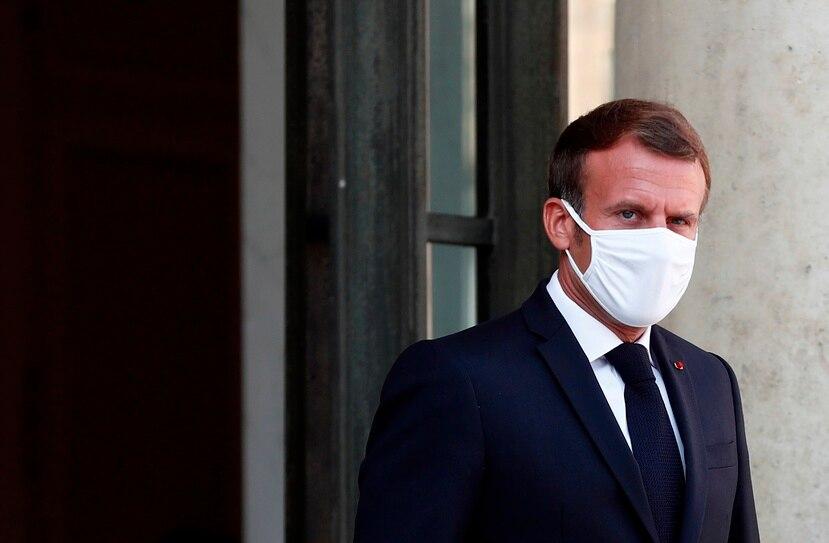 El presiente francés, Emmanuel Macron.