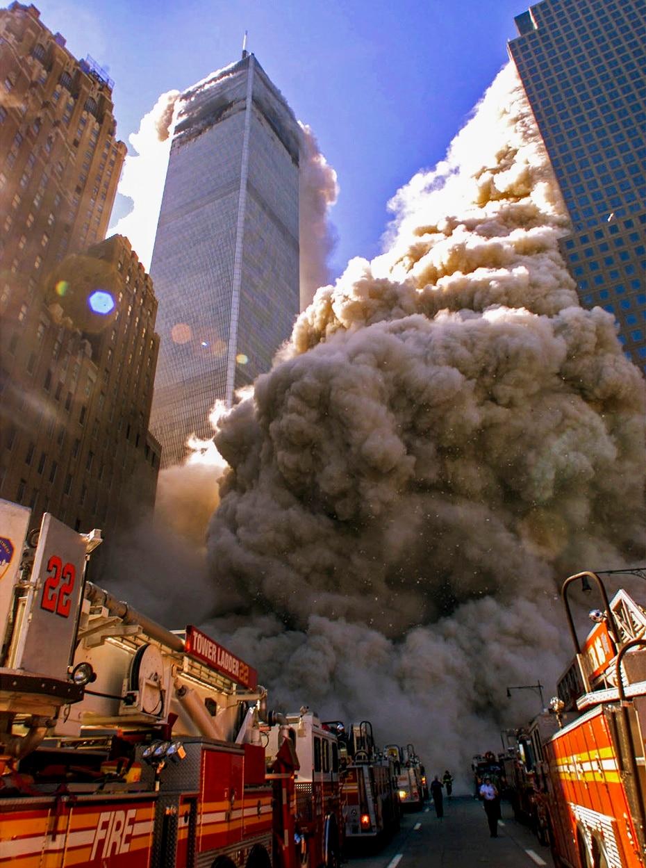Pese a que fue la segunda en ser impactada, la Torre Sur del World Trade Center fue la primera en colapsar.