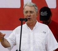 Álvaro Uribe. (Agencia EFE)