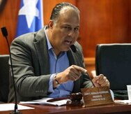 El presidente de la Comisión de Salud de la Cámara, Juan Oscar Morales.