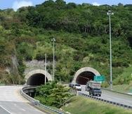 Vista de los accesos a los túneles de Maunabo.