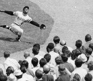 Roberto Clemente encabezó, en el 1971, la ofensiva de los Piratas de Pittsburgh bateando para .414.  (AP)