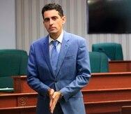 Juan Maldonado en vista de la Cámara de Representantes.