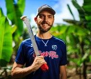 Ángel Pérez: de la cancha de voleibol a la finca de plátanos