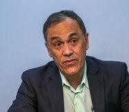 Nelson Rosario, comisionado electoral de Proyecto Dignidad, busca que los comisionados puedan cobrar retroactivamente lo trabajado de enero a abril.
