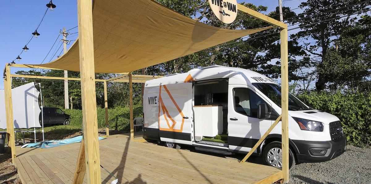 Vive La Van: hospedaje rodante en Puerto Rico