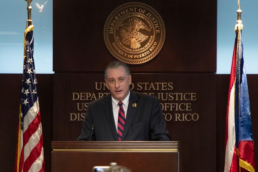 El jefe de fiscalía federal en Puerto Rico, Stephen Muldrow.