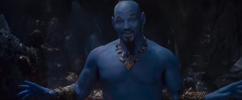"""Es la primera vez que se pudo ver a Will Smith en el papel del bromista """"Genio"""". (Captura)"""