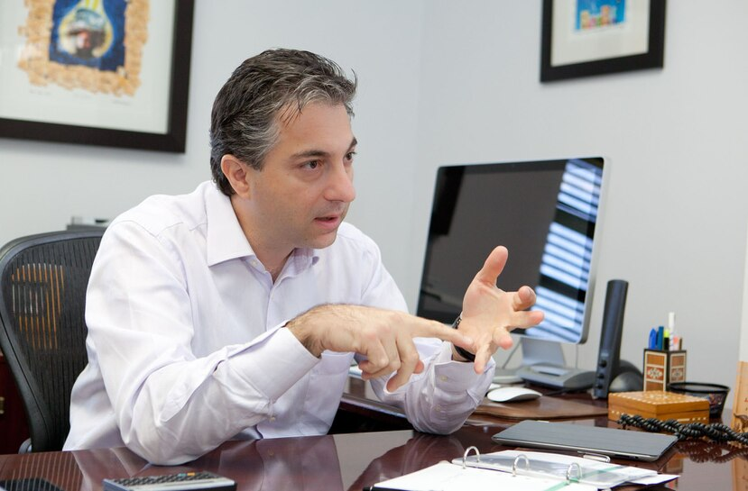 Naji Khoury, President and Chief Executive Officer for Liberty. (GFR Media)