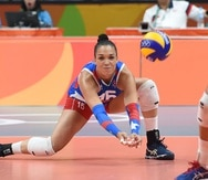 La esquina Daly Santana jugó por última vez en la Liga de Voleibol Superior Femenino en 2016 con San Juan. Este año jugará por primera vez con el equipo de su pueblo.