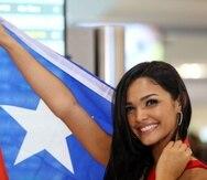El primer número de la belleza boricua fue una samba. (GFR Media)
