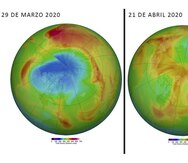 Por qué se cerró el agujero sin precedentes en la capa de ozono sobre el Ártico