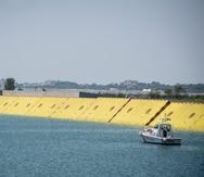 Venecia realiza pruebas con barreras hidráulicas inflables para prevenir inundaciones
