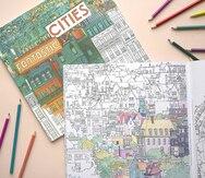 7 libros de colorear para los amantes de los viajes