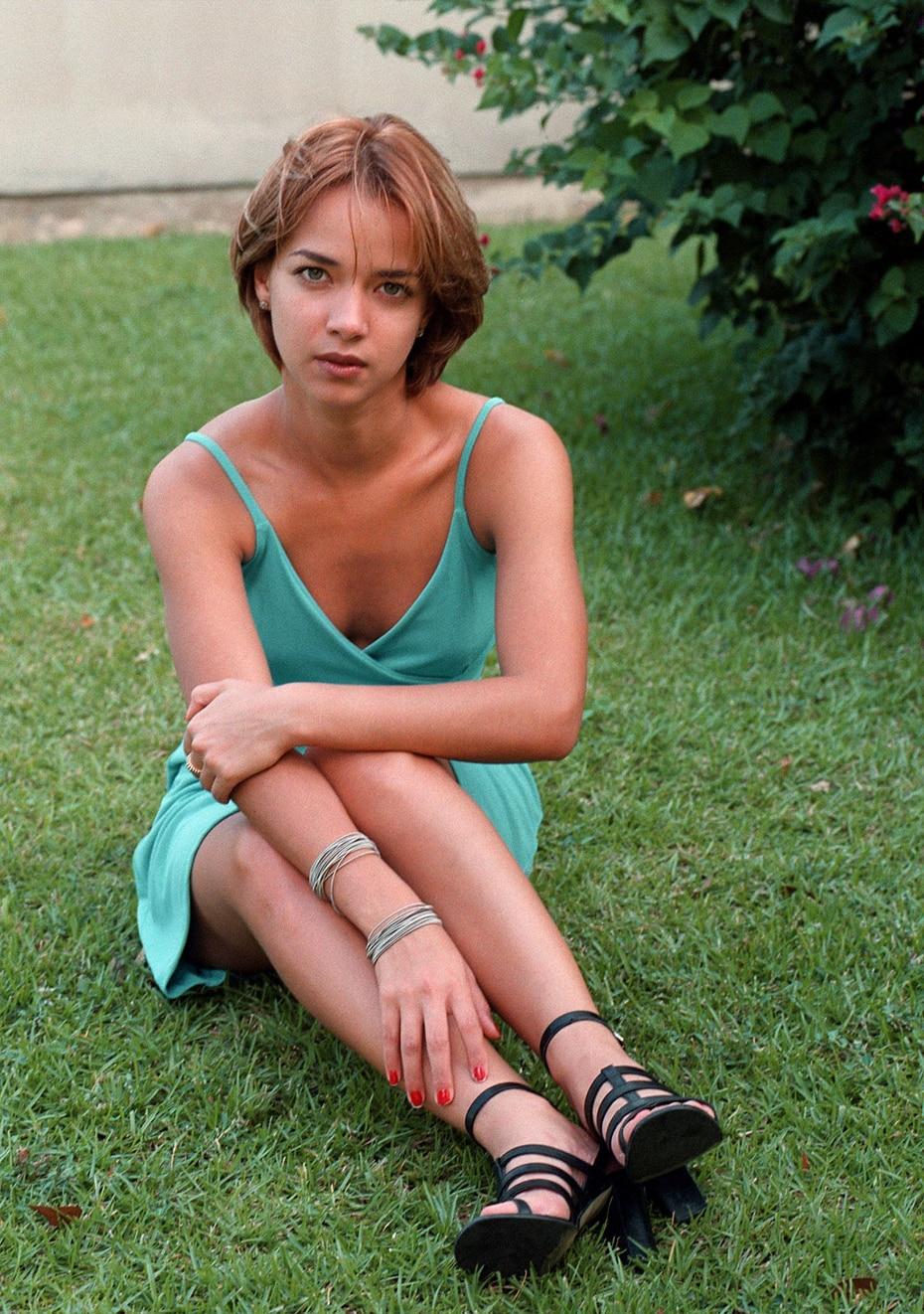 La actriz en el 1998 se dedicaba de lleno a las novelas.