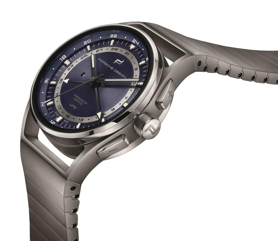 Porsche Design creó el  nuevo reloj 1919 Globetimer UTC. (Suministrada)