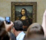 La Mona Lisa es una obra particularmente frágil que no puede viajar fuera del museo. (GFR Media)