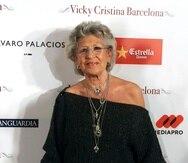 La actriz Pilar Bardem participó en numerosas series de televisión y más de 80 largometrajes.