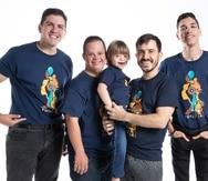 Con la compra de la camiseta, con diseño de la artista Normaliz Soto, ayudas a la Fundación Mi Gran Sueño a seguir ofreciendo sus servicios a la población con diversidad funcional.