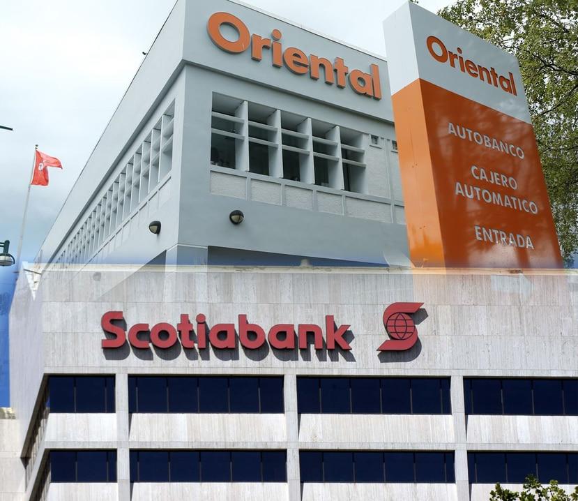Fachada de Scotiabank y Oriental. (GFR Media)